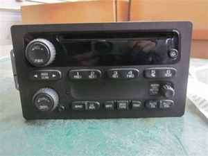 03 04 Chevrolet Silverado 2500 CD Player Radio