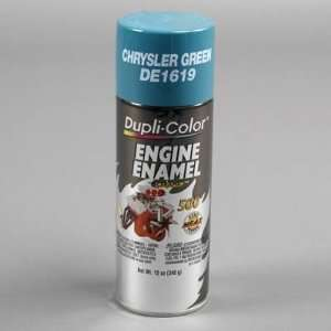DupliColor Chrysler Green Engine Paint with CERAMIC