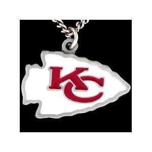 Kansas City Chiefs NFL Team Logo Necklace Sports