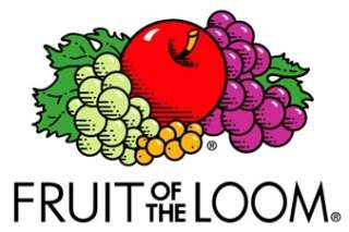 We use FRUIT OF THE LOOM t shirts to ensure garments of the highest