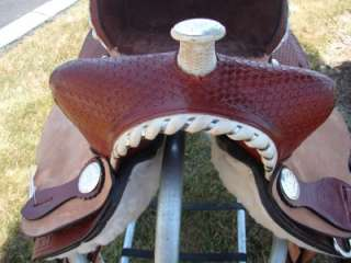 12 Double T Western Saddle Shiloh Barrel Racer Horse