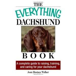 And Caring For Your Dachshund [Paperback] Joan Hustace Walker Books