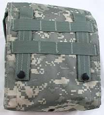 BLACK Modular Molle First Aid Kit Bag With Supplies
