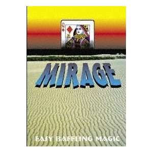 Mirage Deck  Bicycle Poker  Card Close Up Magic Tr Sports
