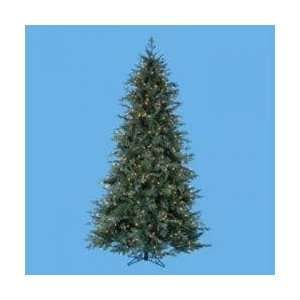 7.5 Pre Lit Downswept Spruce Decorative Christmas Tree