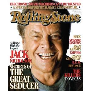 Jack Nicholson, 2006 Rolling Stone Cover Poster by Matthew