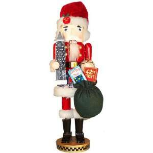 Kurt Adler Wooden *15 NEW YORK NIGHT* NUTCRACKER