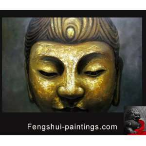 Buddha Painting Original Abstract Art Oil Painting on