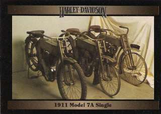 Harley Davidson Motorcycles 1911 Model 7A Single Engine 30 CI Single