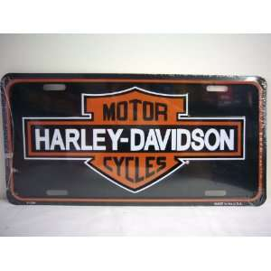 Harley Davidson Motor Cycles License Plate Novelty