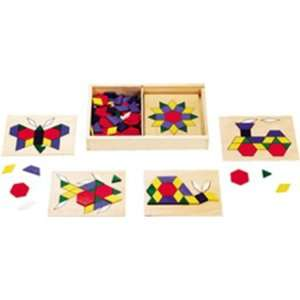 Pack MELISSA & DOUG WOODEN PATTERN BLOCKS & BOARDS