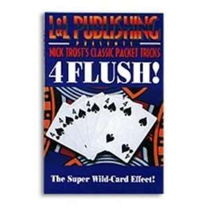 Trost Packet Tricks   4 Flush   Card Magic Trick Toys