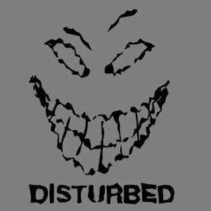 DISTURBED (BLACK) DECAL STICKER WINDOW CAR TRUCK TRAILER Automotive