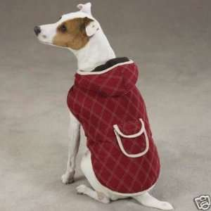 Zack & Zoey Quilted Dog Coat Jacket RED EX LARGE Kitchen
