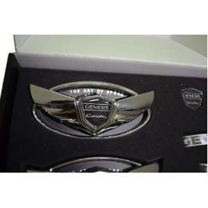 Hyundai Genesis Coupe Wing Emblem in Chrome Fits 2010 2011