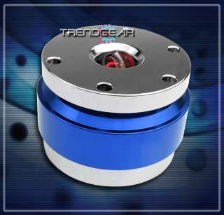 STEERING WHEEL QUICK RELEASE HUB ADAPTER BLUE GMC HONDA HUMMER