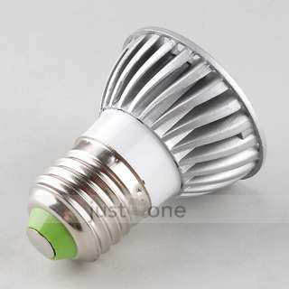 E27 E 27 LED High Power Light Bulb Spotlight Spot Lamp COLD white 110V