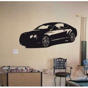 Wall Vinyl Sticker Car Bentley Continental Gt 004