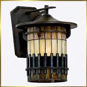 Tiffany Wall Sconce, QZTFAR8412BE, 1 light, Antique Bronze, 12 wide X