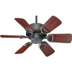 Quorum 30 6 BLADE ESTATE CEILING FAN   TS 43306 44