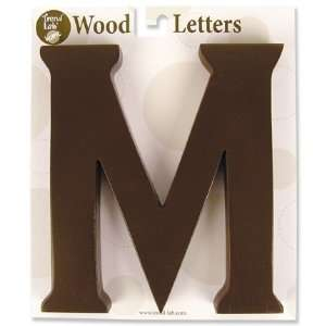 Nursery Baby Decorative Wooden Letter M Baby