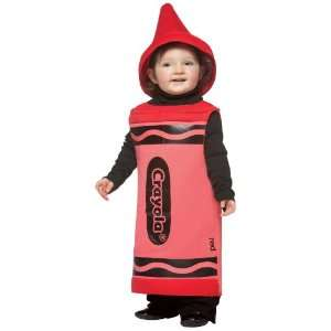 Lets Party By Rasta Imposta Red Crayola Crayon Toddler Costume / Red
