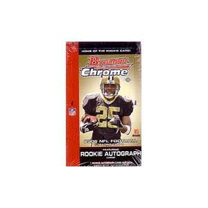Bowman Chrome NFL Football Sports Trading Cards Box