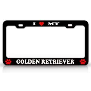 I LOVE MY GOLDEN RETRIEVER Dog Pet Animal High Quality