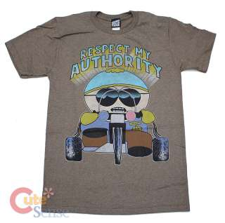 South Park Cartman T Shirt Respect My Authority Wheel