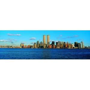 Panoramic Wall Decals   New York City Skyline 6 (4 foot wide Removable