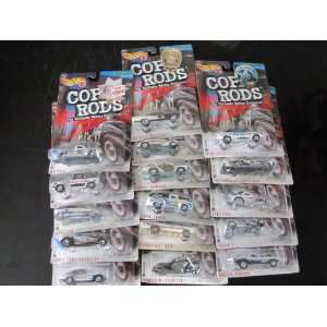 Hot Wheels 1999 Cop Rods Series 2 (16 Cars) Everything