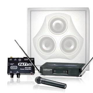 Wireless Conference Room Sound System 1 Vector Ceiling Speaker, Mixer
