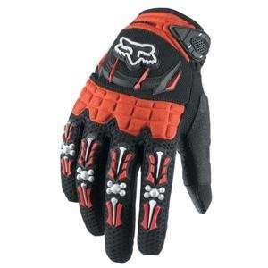 Fox Racing Honda Dirtpaw Gloves   X Large/Red Automotive