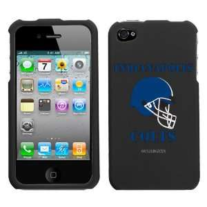 iPhone 4 4S Indianapolis Colts Black Superior Helmet Snap
