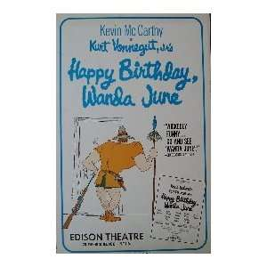 HAPPY BIRTHDAY WANDA JUNE (ORIGINAL BROADWAY THEATRE