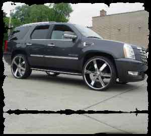 28s U 2 55 CHEVY SILVERADO RIMS AND TIRES