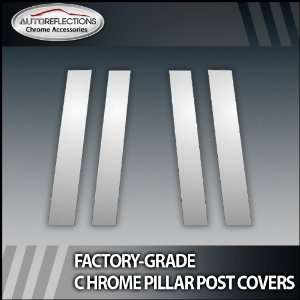 2010 2012 Honda Insight 4Pc Chrome Pillar Post Covers