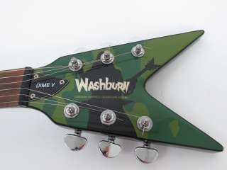 Washburn Dime V Dimebag Darrell Signature Model Electric Guitar