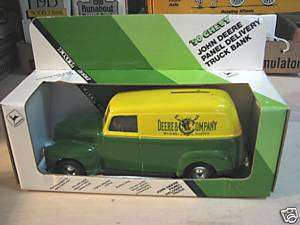 1990 ERTL (JOHN DEERE) 1950 CHEVY PANEL TRUCK BANK