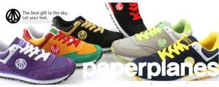 New MENS Paperplanes Running Green shoes ALL SIZE