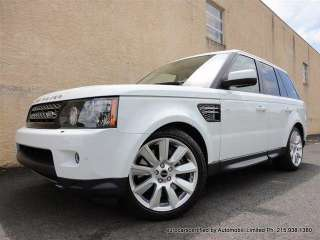 2012 Land Rover Range Rover Sport Supercharged ONLY 3K MILES SAVE