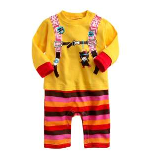 NWT Newborn & Baby Girl Boys Cute Bodysuit  Animal Swings