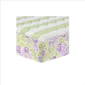 Isabella Lilac/Green Changing Pad Cover Baby