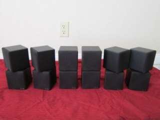 Speakers.Home Theater Rear Black Surround Sound System Set.Lot
