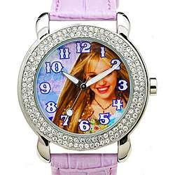 Disney Rhinestone Hannah Montana Girls Watch