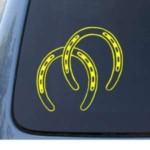 HORSESHOES   Horse Shoes   Car, Truck, Notebook, Vinyl Decal Sticker