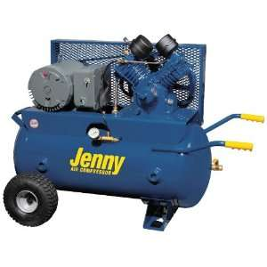 Jenny Single Stage Wheeled Portable Electric Motor Air Compressors1