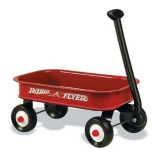 kids Toy Steel Radio Flyer Little Red Wagon Childs Sized Car Real