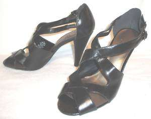 Womens Worthington Sz 8M Black Dress Shoes 4 heels