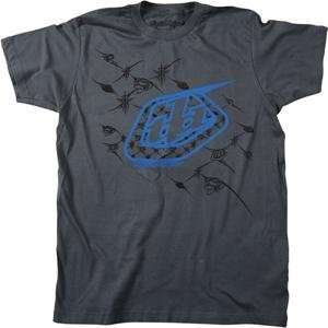 Designs Out of Bounds Slim Fit T Shirt   X Large/Charcoal Automotive